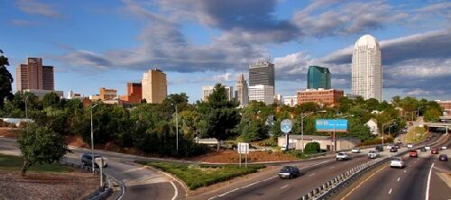 downtown Winston-Salem image